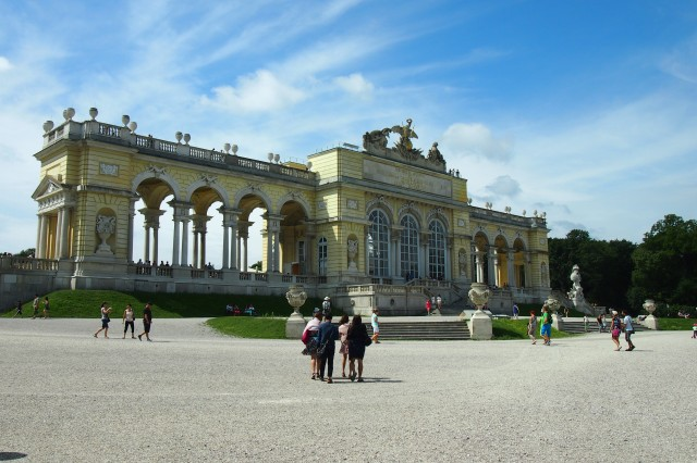 TheGloriette of the Schonbrunn.