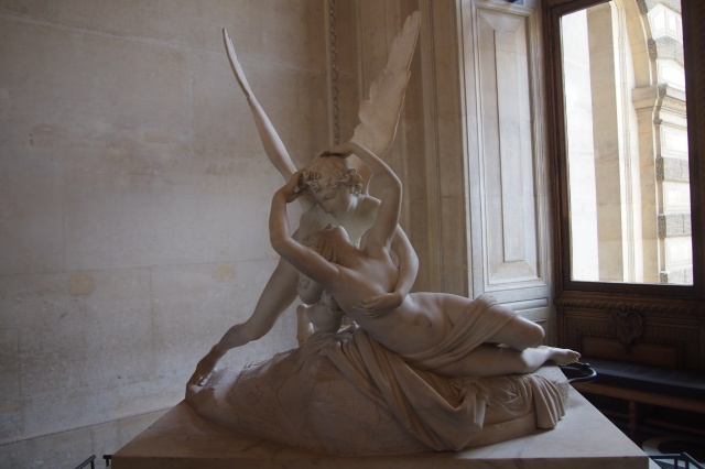 Psyche Revived by Cupid's Kiss by Antonio Canova.